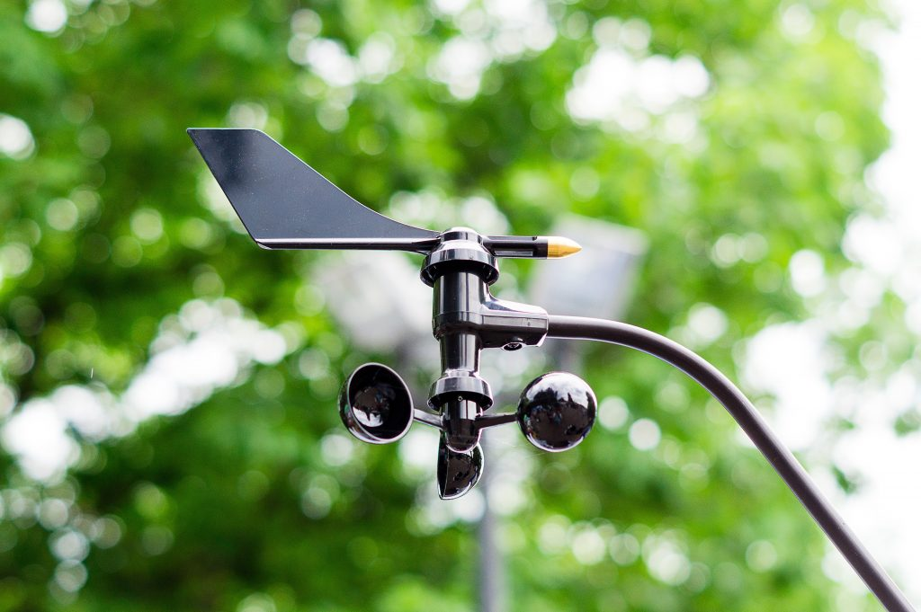 sensores de viento meteorológicos