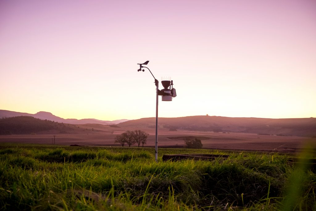 sensores exteriores de la davis vantage vue