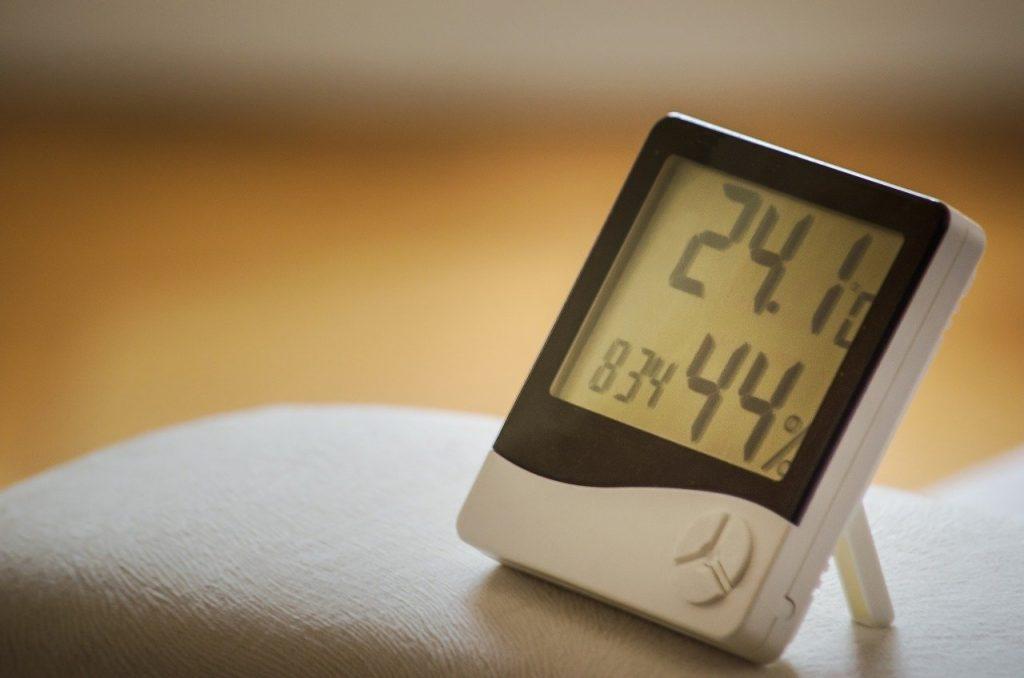 termómetro para hogar