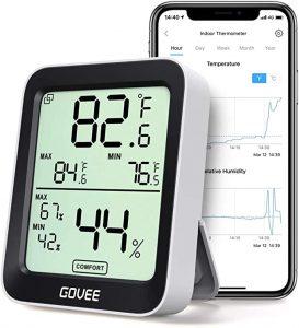 termómetro higrómetro con wifi