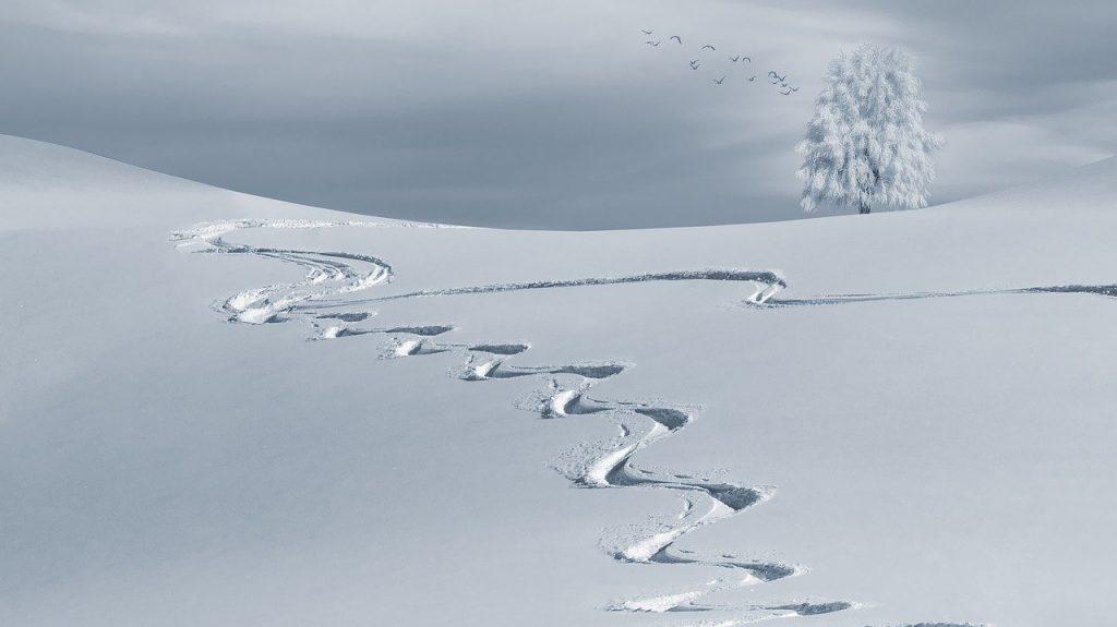 como medir la nieve