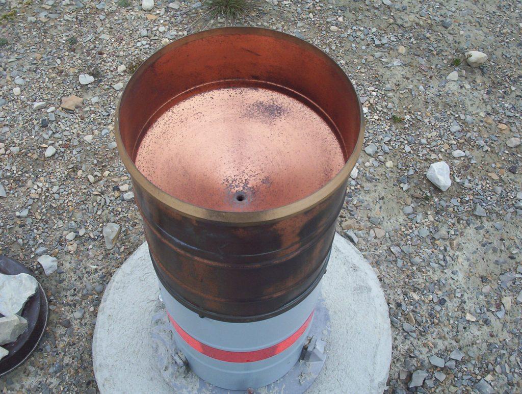 pluviómetro totalizador